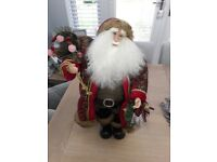 AS NEW UNIQUE STUNNING AND BEAUTIFULLY CLOTHED SANTA