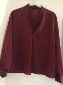 Ladies size 12-14 blouse