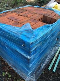 Pallet of surplus bricks approx 450 bricks