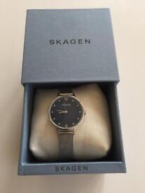 Skagen ladies wrist watch - worn once, as new