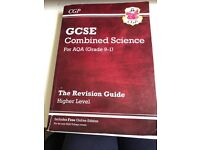 CGP GCSE combined science AQA higher level (triology)