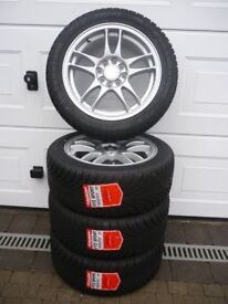 **BRAND NEW** RIPSPEED 15inch SPORT ALLOYS & TYRES (195/50) Suit any small car as they're MULTIFIT!!