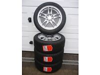 SOLD! **NEW** RIPSPEED 15inch SPORT ALLOYS & TYRES (195/50) Suit any small car as they're MULTIFIT!!