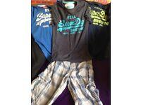 Superdry shorts and tshirts 2xetra small 1 small shorts small