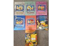 Simpsons DVD collection.