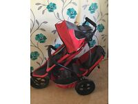 Phil and teds double buggy great condition