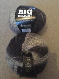 X2 big delight wool
