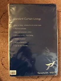 Standard Curtain Linings (Pair)