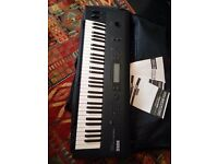 Korg Wavestation Keyboard with box, manuals. Needs new internal battery. Bargain!