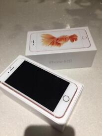IPhone 6s unlocked 64gb rose gold