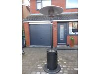 Used patio heater c/w gas
