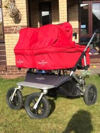 Easywalker Duo Sky twin travel system