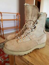 Genuine American military issue Belleville combat boots