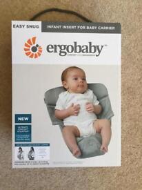 Ergobaby infant sling newborn insert