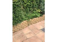 Garden wall bricks x220 approx