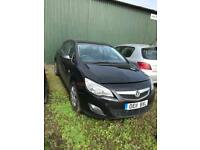 2011(11) Vauxhall Astra 1.7 CDTi - Spares or Repair