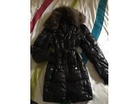 River island coat size 10