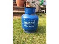 4.5 KG Empty Calor Butane Gas With Regulator