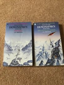 Solo Fantasy Gamebooks, sagas of the demo spawn, books one and two