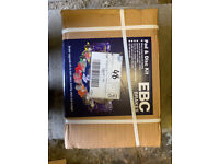 Ford fiesta ST180 MK7 front EBC discs and pads BNIB