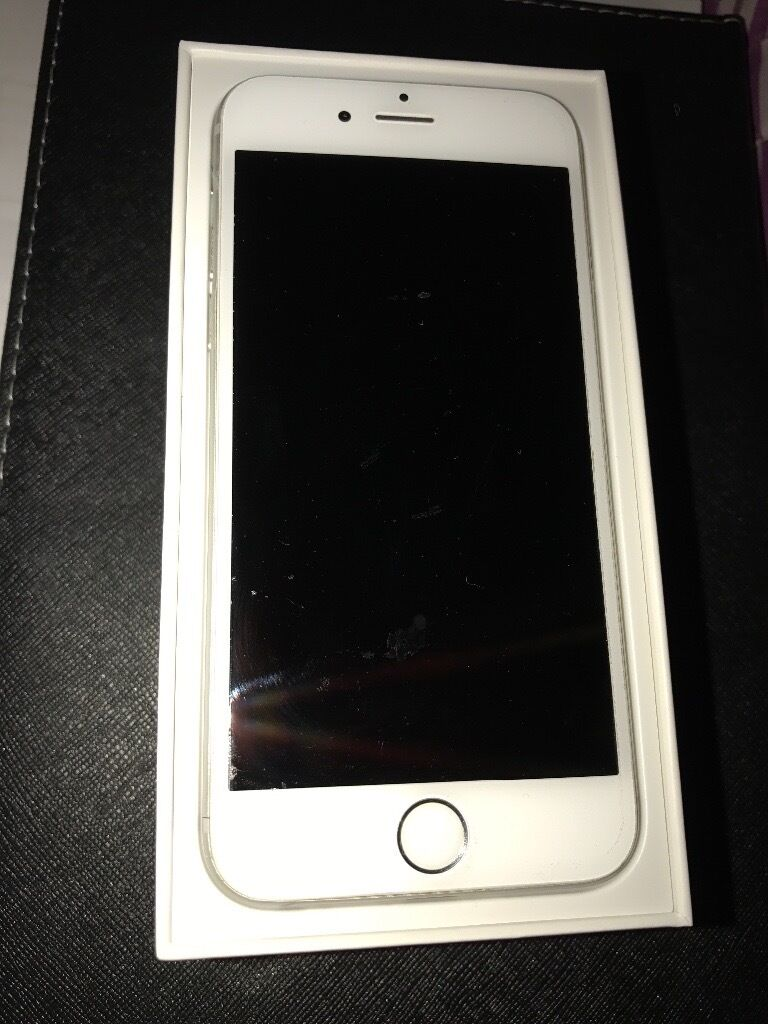 Silver IPhone 6 16gb no offers
