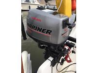 Mariner 4hp sailmate 4 stroke outboard