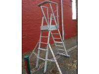 Tubesca Aluminium Scaffold Platform Ladders
