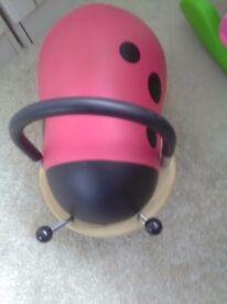 Wheeled bug Ladybird