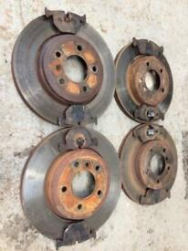 Bmw 330d brake discs and pads