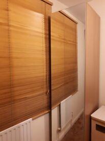 Single Wardrobe PAX Oak effect mirror glass