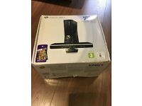 Xbox 360 with one console in box with leads and manual
