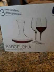 Barcelona Wine set