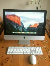 Apple iMac 21.5' 3.06Ghz Core i3 16GB Ram 240GB SSD Ableton Fab Filter Logic Pro X Sibelius Melodyne