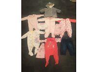 Baby Clothes Bundle 3-6 Months