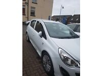 13 plate corsa with 12 months M.O.T