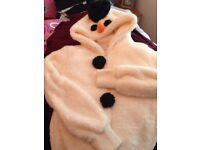 christmas snowman hoodie
