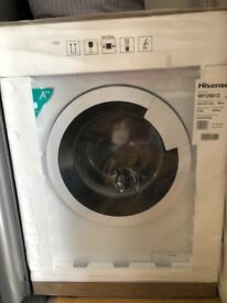 BRAND NEW HISENSE 6KG WHITE WASHING MACHINE STILL IN PACKAGING.