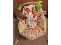 Fisher price woodsy and friends bouncer