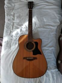 Tanglewood Electro-Acoustic Guitar (Plus Case)