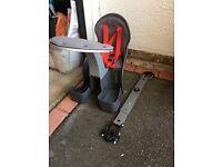 Weeride Front Children's bike seat, excellent condition, £40