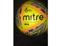 Official SPFL match ball DELTA MITRE