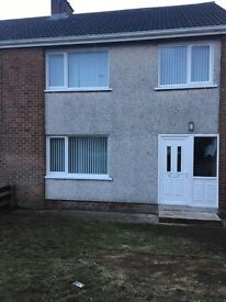 Fully Refurnished semi with garage, Toberhewney Park, Lurgan