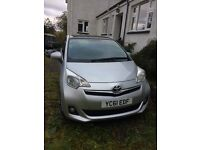 Toyota Verso, very low mileage, excellent condition