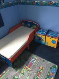 Thomas toddler bed with sleepnight mattress