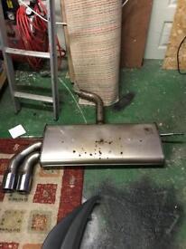 Golf mk7 gtd back box and rear defuser