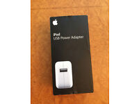 New - Ipod USB power adapter