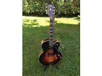 Vintage Gibson 1957 L-5 1952 ES-350 1963 Johnny Smith, 1964 Martin D-28 Brazilian, D'Angelico guitar
