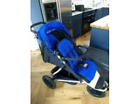 Mountain Buggy Plus One double pushchair