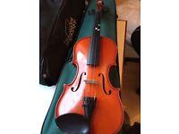 3/4 violin with case