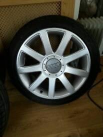 Audi rs 4 alloys